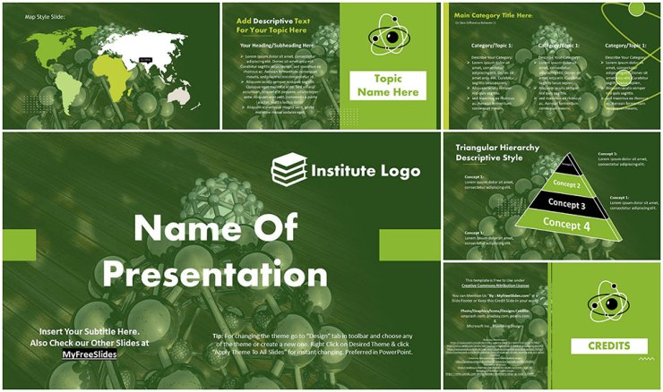 free-atomic-model-google-slides-themes-ppt-template