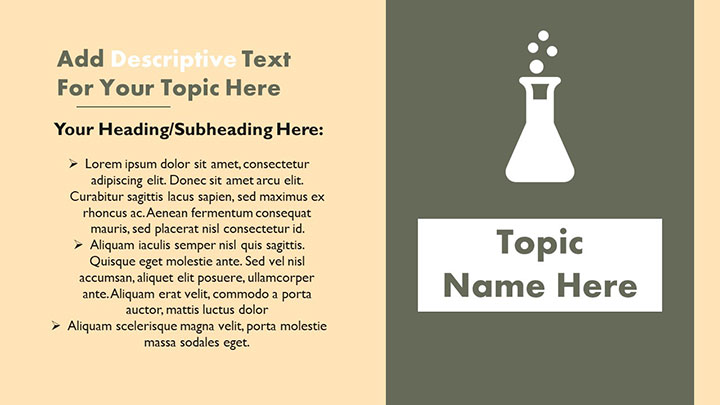 Free P-Block Elements PowerPoint Template - MyFreeSlides
