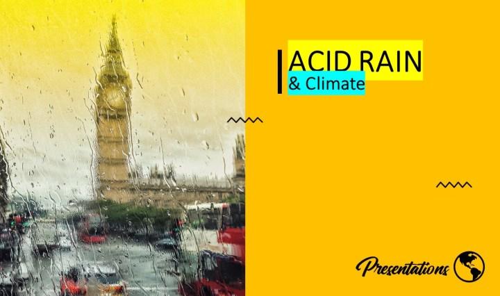 Acid Rain Google Slides Presentation