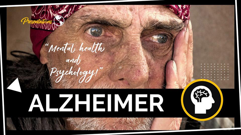 Alzheimer Presentation Template - MyFreeSlides