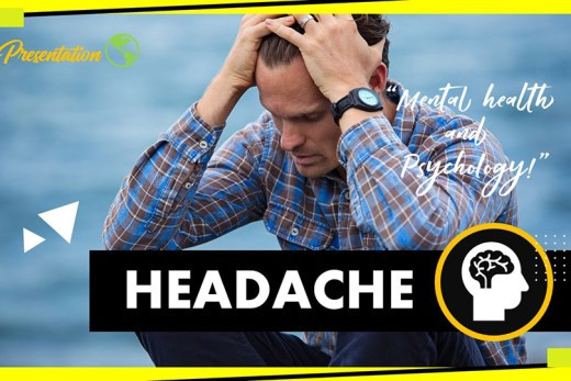 Headache PPT Presentation Template and Google Slides Theme For Free