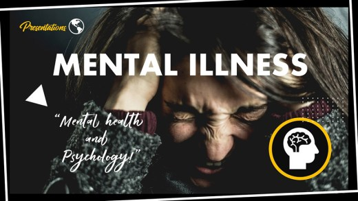 Mental Illness PPT Presentation Template and Google Slides Theme For Free