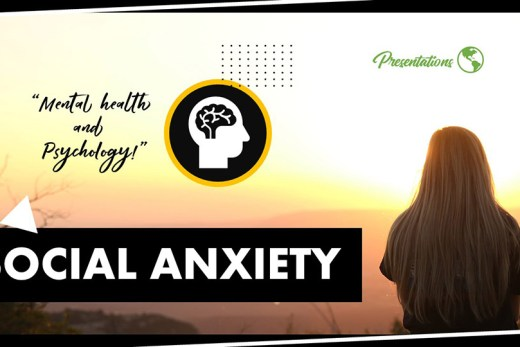 Social Anxiety PPT Presentation Template and Google Slides Theme For Free