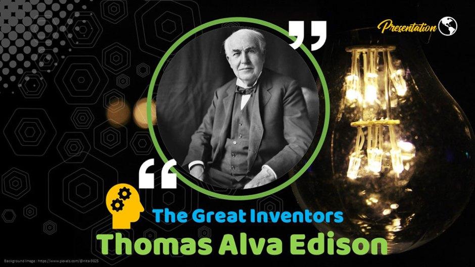 Thomas Alva Edison Presentation Theme