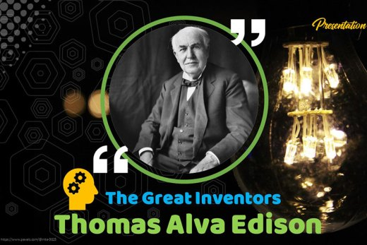Thomas Alva Edison Presentation Theme