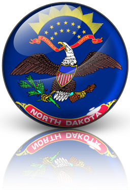 Free North-Dakota Icon