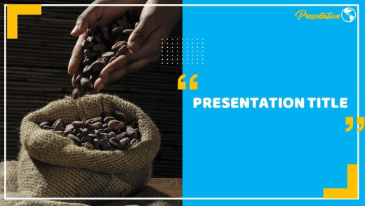 Cocoa Beans Powerpoint Template And Google Slides Themes