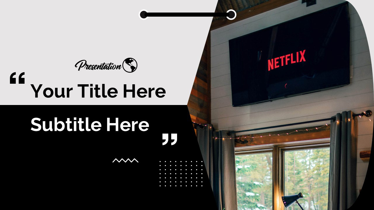 Netflix Streaming Window Free Google Slides Themes And Powerpoint Template Myfreeslides
