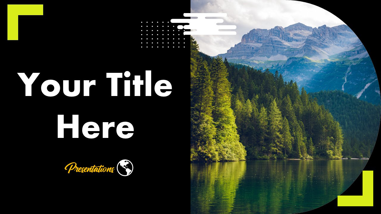 Tropical Forest Scene Google Slides Themes And Powerpoint Template Myfreeslides