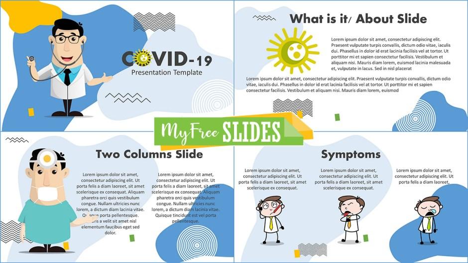 CoronaVirus Presentation Template