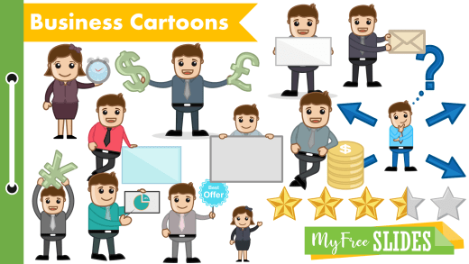 Free Business Cartoons For Presentations