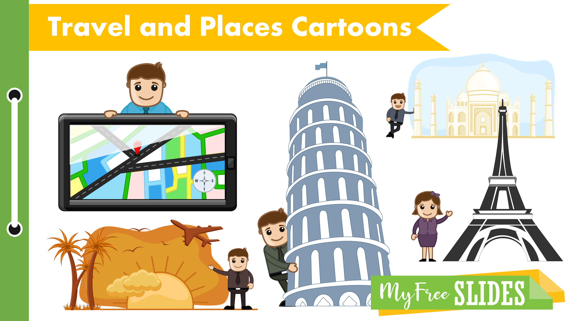Travel And Places Cartoons