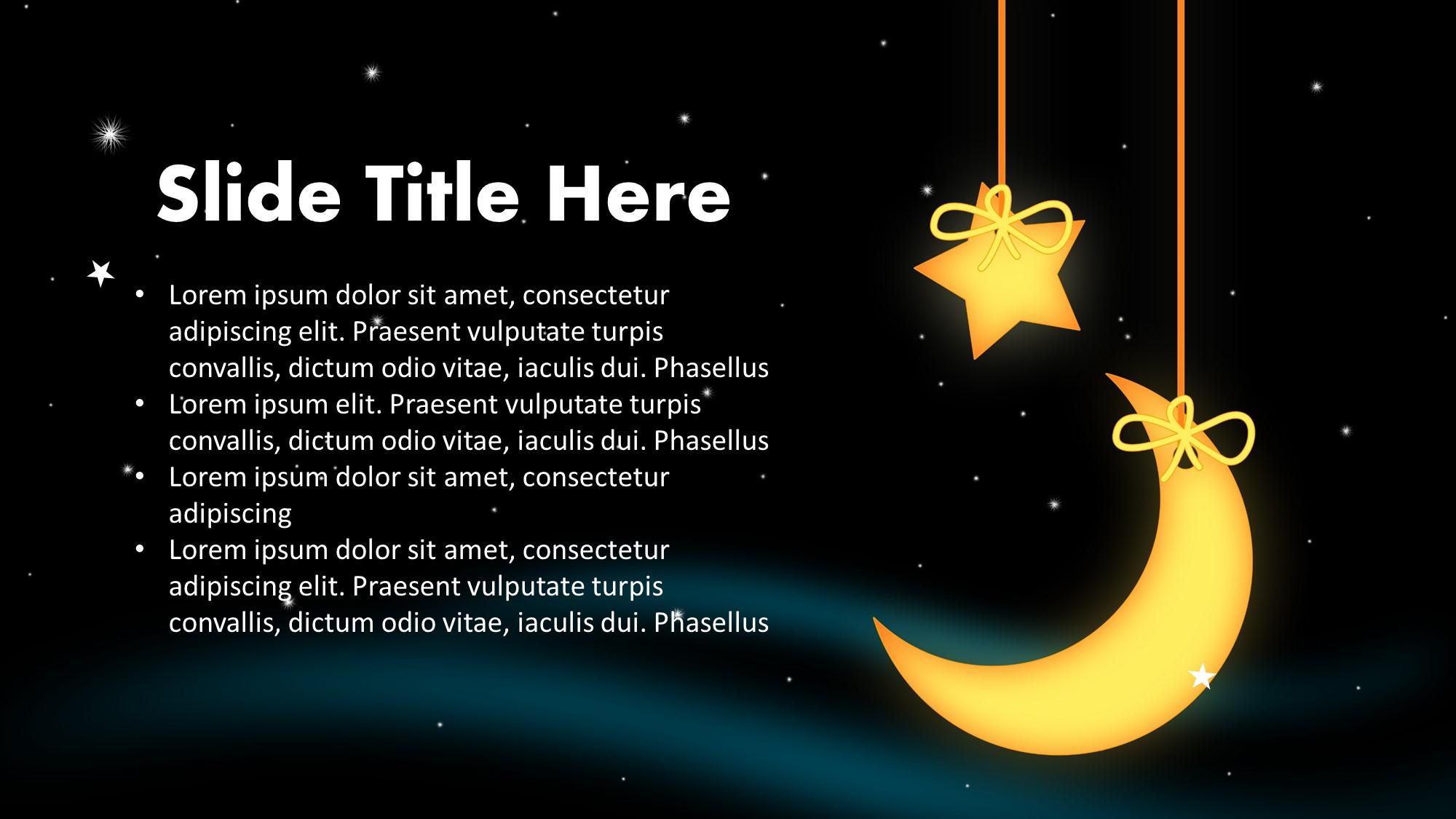 lullaby slide for presentation