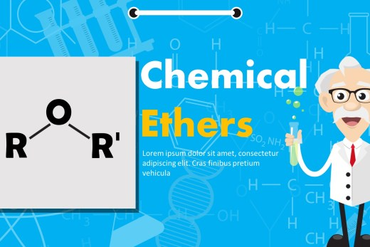 Chemical Ethers PowerPoint Template