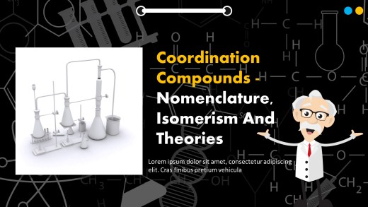 Coordination Compounds - Nomenclature, Isomerism And Theories PPT
