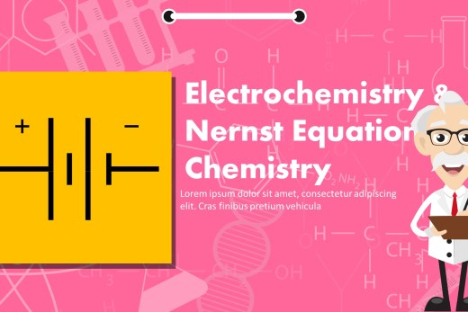 Electrochemistry And Nernst Equation PowerPoint Template