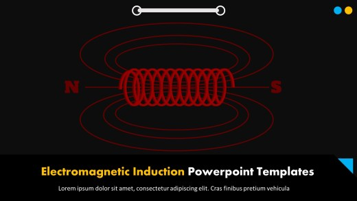 Electromagnetic Induction Powerpoint Templates
