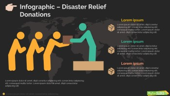 Disaster Relief Donations Infographic-dark