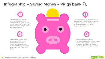Saving Money – Piggy bank Infographic-090