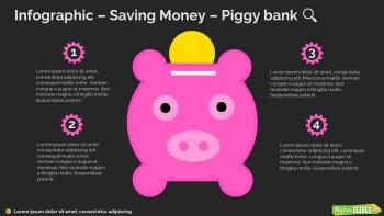 Saving Money – Piggy bank Infographic-091