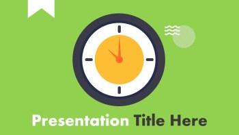 Animated Clock Presentation Template (4)