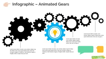 Animated Gears Infographic Slide