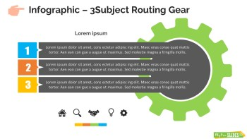 Infographic Slide 3Subject Routing Gear