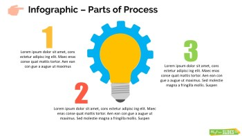 Infographic Slide Part of Process