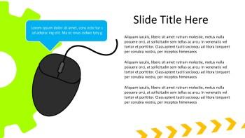 Mouse presentation slide