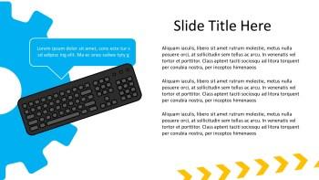 keyboard presentation slide
