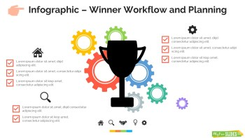 Winner Workflow and Planning Google Slides Themes
