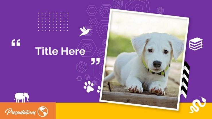 Free Puppy Google Slides Themes