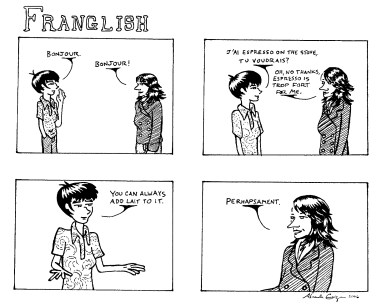 Franglish: speed dating with a French language twist - ww.MyFrenchLife.org