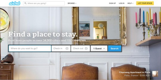 Travel in France - airbnb - Guide to the sharing economy - MyFRenchLife.org