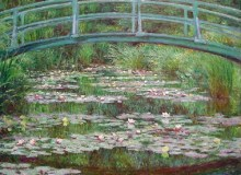 MyFrenchLife™ - MyFrenchLife.org - Monet Giverny - Japanese Footbridge & Waterlillies Feature