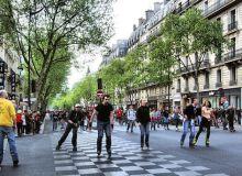 MyFrenchLife™-Paris in April-Boulevard_Saint-Germain,_Paris_April_2014