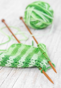 learn to knit from You Tube