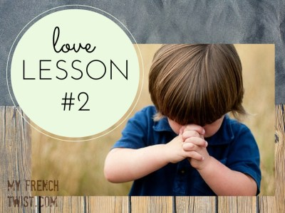 love lesson #2 - my french twist