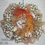 NFL wreath - my french twist