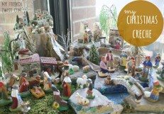 my christmas creche - myfrenchtwist.com