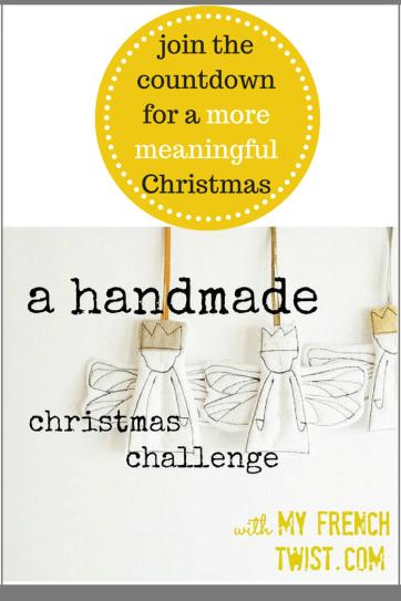 handmade christmas challenge