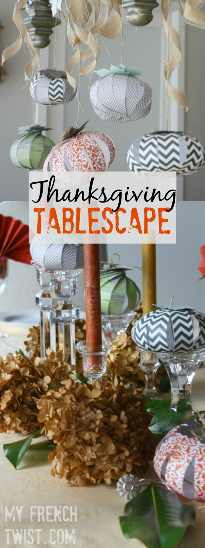 thanksgiving tablescape - myfrenchtwist.com