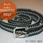 how to make a paracord belt - myfrenchtwist.com