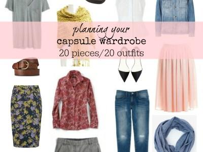 your capsule wardrobe - myfrenchtwist.com