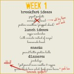 real food – week 1 recap & recipes
