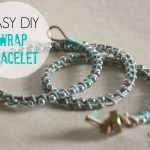 easy DIY wrap bracelet
