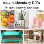 easy midcentury diys