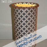 DIY trendy up-light