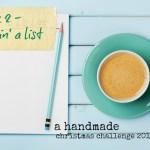 handmade christmas week 2 – makin' a list