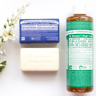 dr bronners soap - green beauty